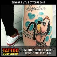 MICHEL HOSTILE ART